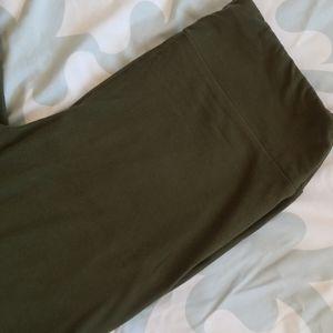 Lularoe Army Green Leggings